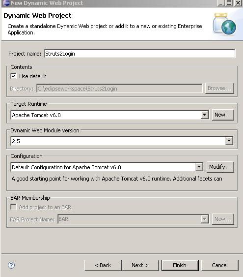 Struts 2 Tutorial Series: Sample Application – Login Module