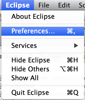 eclipse-preference