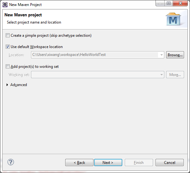 Spring MVC HelloWorld Using Maven in Eclipse