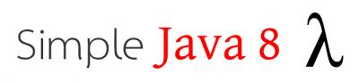 Simple Java 8 Lambdas