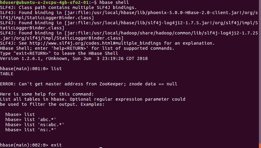 Install Hadoop and HBase on Ubuntu